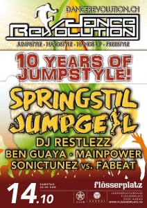 Dance Revolution - 10 Years Of Jumpstyle!